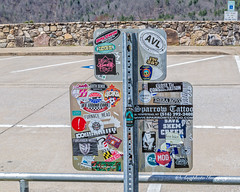 Everyone's Got a Message (augphoto) Tags: augphotoimagery sign signage stickers erwin tennessee unitedstates