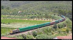Papelero en Capçanes (javier-lopez) Tags: ffcc railway train tren trenes adif renfe mercancías papelero papel 269 japonesa habiss jjpd barcelonacantunis elespartal capçanes 04072008