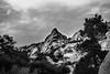 peak (nateabrown) Tags: joshuatree desert cali california ilford iso400 blackandwhite grain landscape palmsprings rock geology minolta