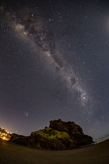 Lion Rock & Milky Way (ytk_57) Tags: stars milkyway pihabeach westauckland newzealand 15mm canoneos5dmarklll eos canon
