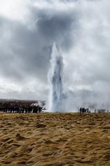 Strokkur (Christian Reteaca) Tags: iceland strokkur geysir