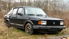 VW Jetta I (vwcorrado89) Tags: vw jetta i rabbit volkswagen 1 cl mki mk1 mk rust rusty abandoned wreck old car