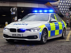 West Midlands Police BMW 330d Traffic Car AK16 ZRU (OPS38), Birmingham City Centre. (Vinnyman1) Tags: west midlands police wmp bmw 330d traffic car ak16 zru ops38 operations rpu roads policing unit road crime anpr automatic number plate recognition cctv closed circuit television enabled birmingham emergency services service rescue 999 england uk united kingdom gb great britain fla football lads alliance dfla democratic far right demonstration demo march protest tommy robinson