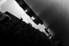 What have we accomplished? (parenthesedemparenthese@yahoo.com) Tags: dem 2018 bn bw london londres man monochrome nb noiretblanc silhouette sky textures uk balconies balcons blackandwhite bnw byn canon600d ciel ef24mmf28 hautcontraste highcontrast homme march mars oblique streetphotographie streetphotography