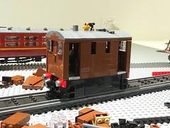 A nice surprise (Britishbricks) Tags: train steam moc lner y6 tram toby lego