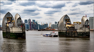 Thames Barrier, Piers 7 and 8 (Explored 08-04-2018)