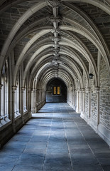 Rockefeller College - Princeton University (Nathan Nixon Photography) Tags: hogwarts rockefeller college princeton university corridor stone brick arch light day old history historic new jersey architecture