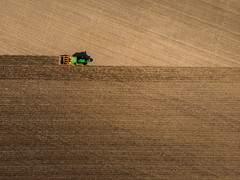 Texture (Draws_With_Light) Tags: agriculture aerialphotography northyorkshire drone landscape scene season vehicles spring abstract fields djimavicair tractor colton places camera