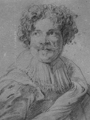 VAN DYCK Antoon - Portrait de Simon de Vos (drawing, dessin, disegno-Louvre RF662) - Detail 4 (L'art au présent) Tags: art painter peintre details détail détails detalles drawings dessins dessins17e 17thcenturydrawings louvre museum paris france dessinshollandais dutchdrawings dutchpainters peintreshollandais lavis wash antoonvandyck antoon antoine anton bible figures personnes people pose model portrait portraits face faces visage man men homme tribute hommage