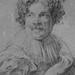 VAN DYCK Antoon - Portrait de Simon de Vos (drawing, dessin, disegno-Louvre RF662) - Detail 4