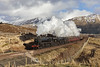 Fives go to the West Highlands (EltonRoad) Tags: 44871 45407 glasgowhighlander blackfive steam train railway line jacobite ecs doubleheader crianlarich inverhaggernie strath fillan westhighlandline westhighlands scotland fortwilliam westcoast 45157