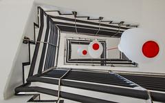 Treppenhaus (jürgenmilnik) Tags: leipzig architektur