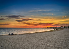 Beach wednesday enjoying the sunset from the beach (Singing With Light) Tags: 2017alpha6500 7th gulfbeach milford mirrorless october singingwithlight sonya6500 photography singingwithlightphotography sony sunset walk