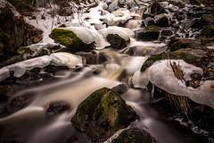 Meltdown (Jens Haggren) Tags: fall water ice rocks le longexposure nacka sweden olympus em1 jenshaggren