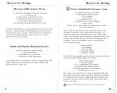 Home For The Holidays Volume 5 2001 PH0099 05 (Eudaemonius) Tags: ph0099 home for the holidays volume 5 eudaemonius bluemarblebounty cookbook cooking cook book recipe recipes 2001 shrimp with lemon pesto swiss onion toasted snacks great grandmas sausage cake butter sauce warm rum