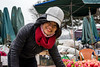 Fruit Seller and Red Scarf (minus6 (tuan)) Tags: minus6 d810 50mm đồnghới vietnam