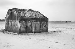 IMGP9201fx15 (hans hoeben) Tags: landscapeweespholland coldwarreprocessed bunker cold war weesp holland reprocessed ww2 winter wonder land hans hoeben dutch hm24 1939
