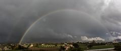 IMG_3080-Panorama (aochlesia13) Tags: rainbow arcenciel aubagne provence bouchesdurhone nuages eclaircie thinning cloud canon eos80d 1018mm