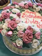 (thedeguzmans1) Tags: buttercream roses rose fondant birthday cake