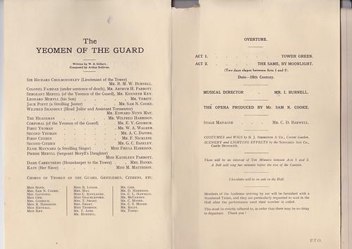 1926: Jan Programme 2