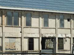 DSCF7854 (Benoit Vellieux) Tags: saintvallier france countryside campagne land valléedurhône rhonevalley rhonetal andancette cusine factory fabrik eternit beton concrete graffiti cellulesphotoélectriques photocells photoelectriccells fotozellen fricheindustrielle industriebrache industrialwasteland