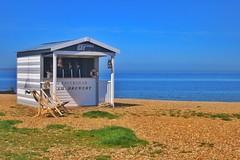 Beach Hut Bar (gary8345) Tags: greatbritain beach britain whitstable england 2018 kent unitedkingdom seaside snapseed sea uk