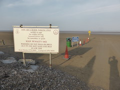 Brean Sands Warning Sign (andreboeni) Tags: somerset brean sands beach bristolchannel coast sand