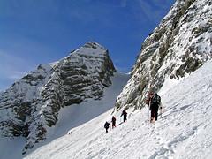 Vratca ascent (Vid Pogacnik) Tags: slovenija slovenia julianalps mojstrovka outdoors skitouring tourskiing mountain landscape vratca