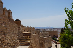 Alcazaba in Almeria, Spain (mattk1979) Tags: almeria sun outdoors city buildings spain europe old historic arab moorish alcazaba fortress sky clouds
