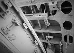 Detail (roomman) Tags: 2018 turkey cankiri çankırı city town transport transportation lane jet engine display museumj library inside outside municipal children child exhibition door flight park open metal alu aluminium structure acc tc tcacc b4 a300b4