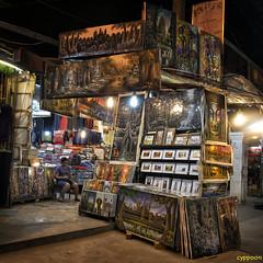 THE NIGHT MARKET (D8E_1245s) (cyppoon (Chris Poon)) Tags: cyppoon siemreap 暹粒 柬埔寨 cambodia angkornightmarket phallaangkornightmarket