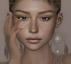 You & I, we got that love, the crazy kind (Chelsea Chaplynski ( Amity77 inworld)) Tags: mila eyes jolene event secondlife sl chelsea face freckles insol doux