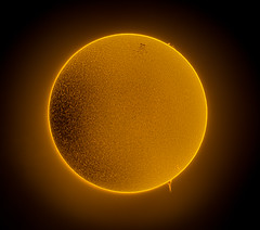 Sun 13th June 2018 AR12713 (Carballada) Tags: sun disc solar hydrogen alfa astrophotography astronomy space astro sky qhy qhy5iii174 lunt ls60tha astrophotograpy astrophoto