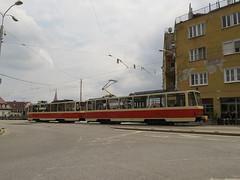 Tatra T6A5, #7918, DP Bratislava (transport131) Tags: tram tramwaj dp bratislava tatra t6a5