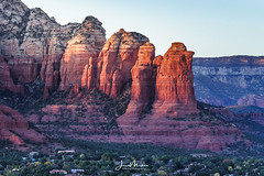 Sedona at Sunset (Wits End Photography) Tags: daybreak firstlight daylight natural sunrise desert morn dawn dusk color am rural evening early light colorful morning dim country sedona picturesque scenic sunup twilight view sky clouds landscape phoenix sunset nature cloudy colors multicolored outdoor outside