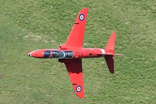 XX325  Hawk T1  RAF  Red Arrows