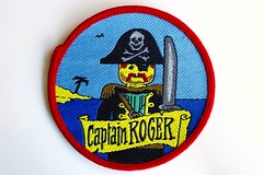 Pirates woven patch (BF Bricks) Tags: lego ephemera collectible patch sew embroidered 90s 80s