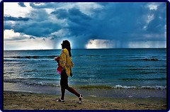 Storm at Black Sea - 1 (Ioan BACIVAROV Photography) Tags: storm blacksea sea romania rain cloud water bacivarov ioanbacivarov bacivarovphotostream interesting beautiful wonderful wonderfulphoto nikon woman women girl girls fille filles femme fata fete