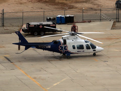 N127AM (wiltshirespotter) Tags: kmhv mojave agusta a109e