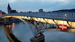 Passerelle (Liège 2018) (LiveFromLiege) Tags: liège luik wallonie belgique architecture liege lüttich liegi lieja belgium europe city visitezliège visitliege urban belgien belgie belgio リエージュ льеж