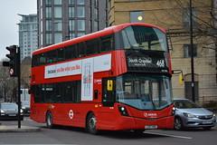 HV396 - 468 South Croydon South End (Gellico) Tags: arriva london south bus route 468 croydon hv 396