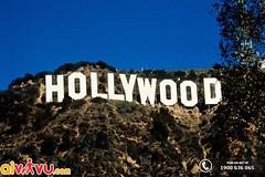 Hollywood - Calofornia (lthuong2608) Tags: ngọnnúi bầutrời cây chữviết côngtrình