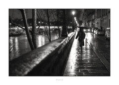 Paris n°183 (Nico Geerlings) Tags: ngimages nicogeerlings nicogeerlingsphotography paris france ilesaintlouis seine quai pont bridge pontmarie streetphotography nightphotography rain raining rainy