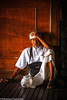 Prayer - Uluwatu - Bali - Indonesia (Sébastien Pagliardini) Tags: indonesia indonesie bali muslim prayer man old monk wood sleeping boy meditation devotion seating viet nam urbain smiling sourire asie asia asiedusudest