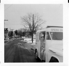1960 - Spring Brook Dairy - Milk wagon - John Welcome Miller