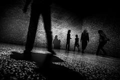 (pas le matin) Tags: lille france travel voyage bw nb people silhouettes strange blackandwhite noiretblanc dots points lumière light canon 7d canon7d canoneos7d eos7d