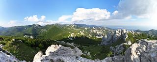 Debeli kuk (1269 m), Park prirode Velebit, Hrvatska / Debeli kuk (1269 m), Velebit Nature Park, Croatia