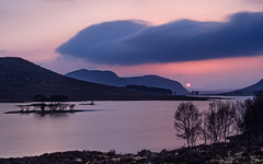 Last Hurrah at Droma (Stoates-Findhorn) Tags: loch anteallach highland scotland sunset globe droma orb westerross 2018 dusk unitedkingdom gb olympusflickraward