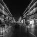 Rue Faidherbe, Lille at night