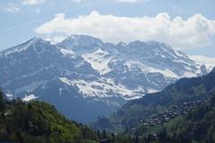 Dents du midi (corinne emery) Tags: troistorrents montagnes mountain landscape valais wallis suisse exterieur paysage dents morcle